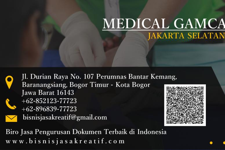 Pendaftaran Medical Gamca Jakarta Selatan