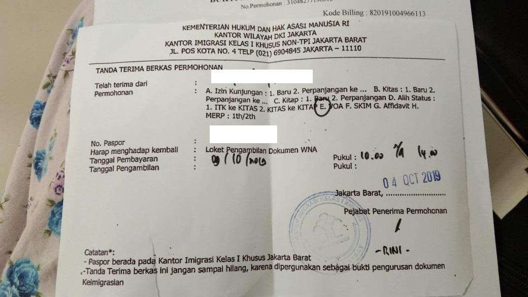 Jasa Perpanjang Visa On Arrival