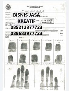 Finger Print Untuk SKCK Visa